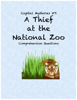 Capital Mysteries #9 A Thief at the National Zoo comprehen