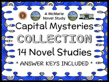Capital Mysteries COLLECTION (Ron Roy) ALL 14 Novel Studie
