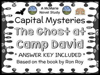 Capital Mysteries: The Ghost at Camp David (Ron Roy) Novel