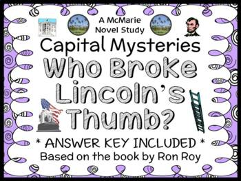 Capital Mysteries: Who Broke Lincoln's Thumb? (Roy) Novel