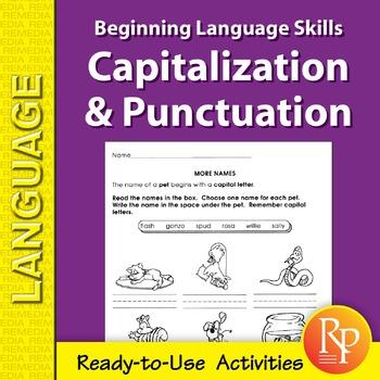 Capitalization & Punctuation: Beginning Language Skills