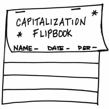 Capitalization Rules Flipbook