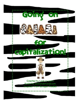 Capitalization Game