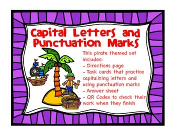 Capitalization and Punctuation Work Station