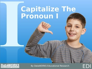 Capitalize The Pronoun I
