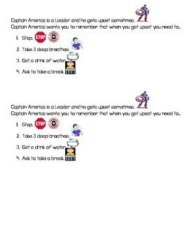 Capitan America Power Card Super Hero