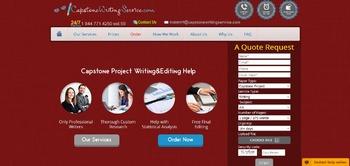 Capstone Writing Service