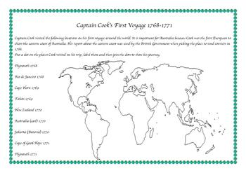 Captain Cook's Voyage to Australia