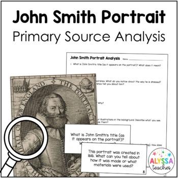 Captain John Smith Portrait Analysis