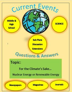 Current Events Science by Captain Planet - Nuclear Energy