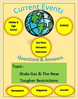 Current Events Science, Captain Planet:Shale Gas & The New