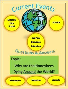 Current Events Science: Why are the Honeybees Dying Around