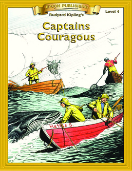 Captains Courageous RL4-5 Adapted and Abridged Novel