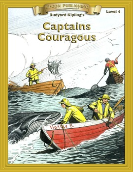 Captains Courageous RL4-5 ePub with Audio Narration