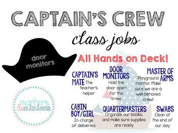 Captain's Crew (Class Jobs)