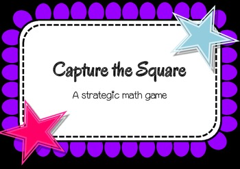 Capture the Square - dice game
