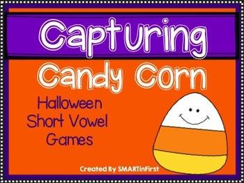 Capturing Candy Corn-Short Vowel Games