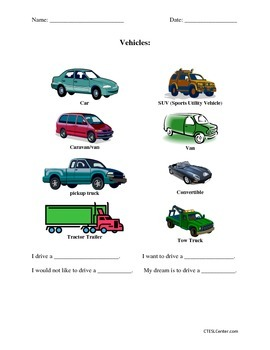 Car & Driving Workbook