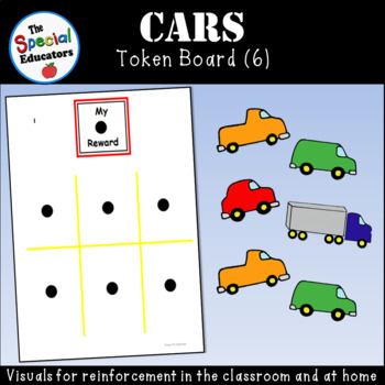 Car Token Board (6)