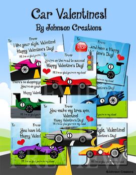 Car Valentines!