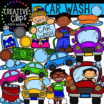 Car Wash {Creative Clips Digital Clipart}