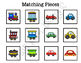 Car and Train Sorting File Folder Game for students with Autism