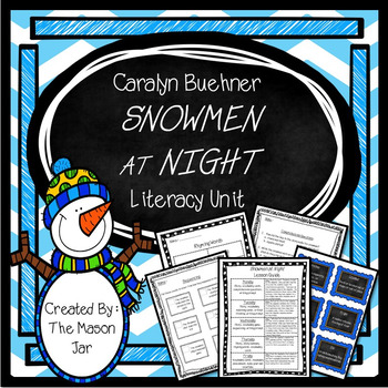 Caralyn Buehner's - Snowmen at Night Winter Unit