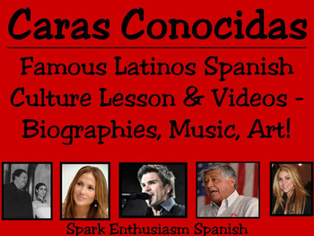 Caras Conocidas - Notable Hispanics Intermediate-Advanced