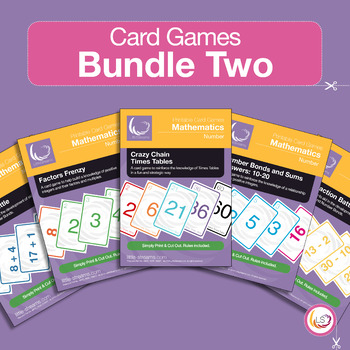 Factors, Bonds, Times Tables and Arithmetics - 5 Card Game