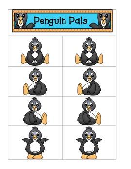 Card Matching-Penguin