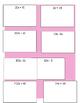 Card Sort Equivalent Algebraic Expressions using the Distr