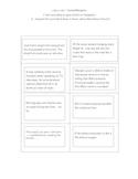 Card Sort: Simile, Methphor