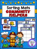 Card Sorting Mats: Community Helpers