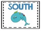 Cardinal Directions Poster-Ocean Theme  FREEBIE