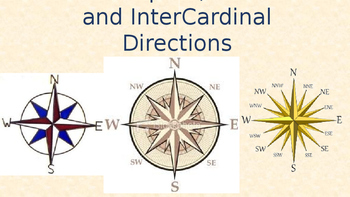 Cardinal Directions and the Compass