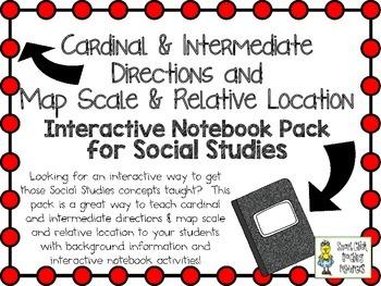 Cardinal & Intermediate Directions,  Map Scale ~ Interacti
