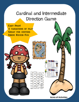 Cardinal and Intermediate Direction Game