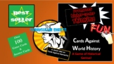 Cards Against History-A Game of Historical Genius! (AP Wor