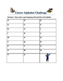 Career Alphabet Challenge