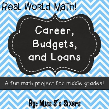 Career, Budgets, and Loans Math Project