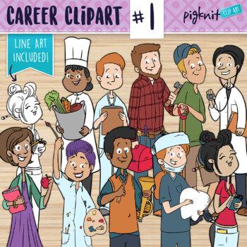 Adult Clipart | Career Clip Art | Jobs | Nurse, Dr, Teache