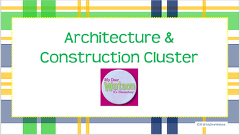 Career Cluster:  Architecture and Construction