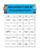 Career Cluster Bingo - Architecture & Construction