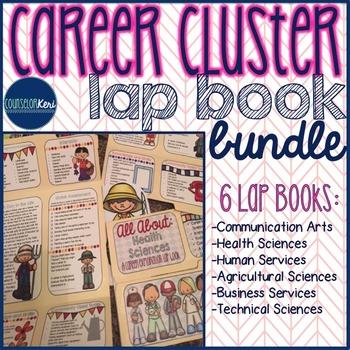 Career Cluster/Community Helper Lap Book Bundle