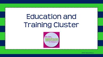 Career Cluster:  Education & Training