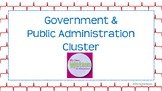 Career Cluster:  Government & Public Administration