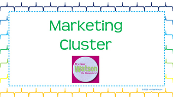 Career Cluster:  Marketing