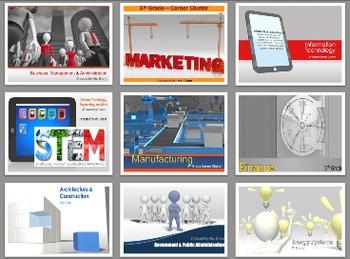 Career Cluster PowerPoint Bundle