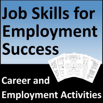 Career Development Activities, Job Skills for Employment Success