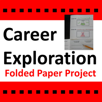 Career Exploration Activity / Folded Paper Project